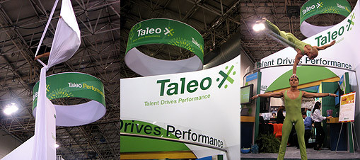 trade show entertainers