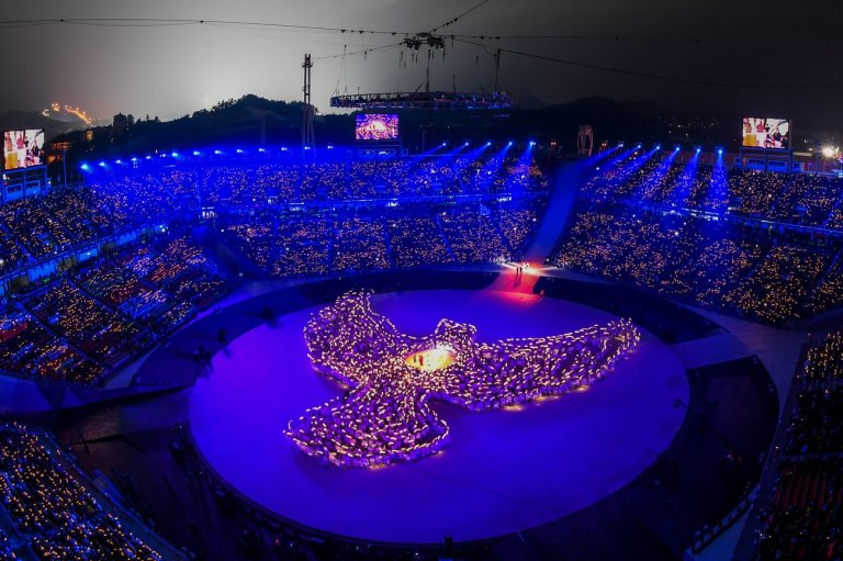 Highlights Of The Pyeongchang Olympics Opening Ceremony, In Photos
