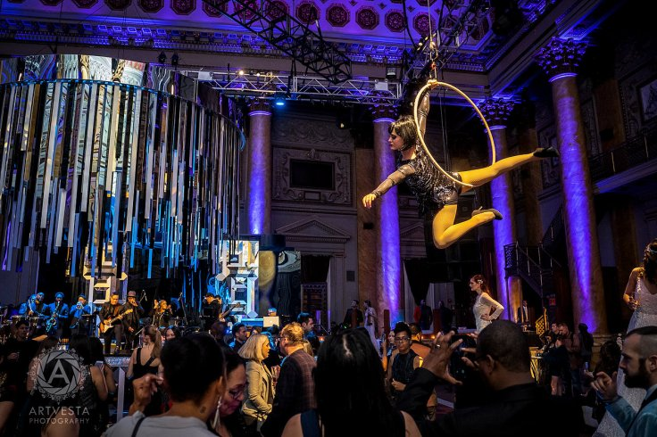 aerialartistry.com aerialist at the Capitale NYC